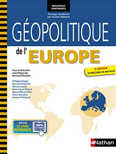 GEOPOLITIQUE EUROPE (NOUV CONT