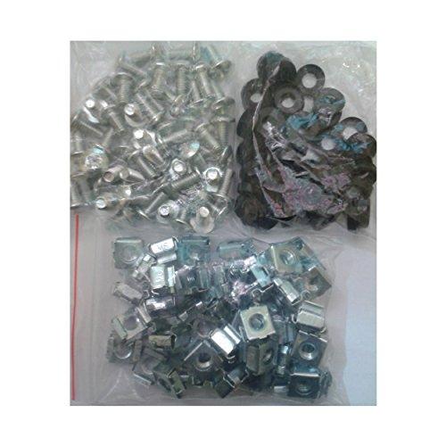 Orion RFK kooimoeren, bouten en kunststof ringen (50 van elk in verpakking) - NUTS50