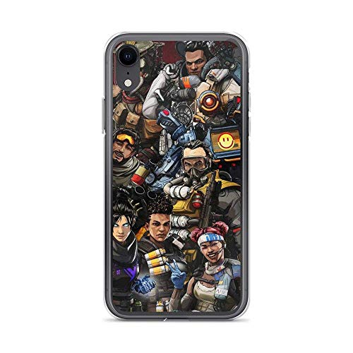 Fotrsta Compatible with iPhone X/XS Case Apex Legends Game Action Pure Clear Phone Cases Cover
