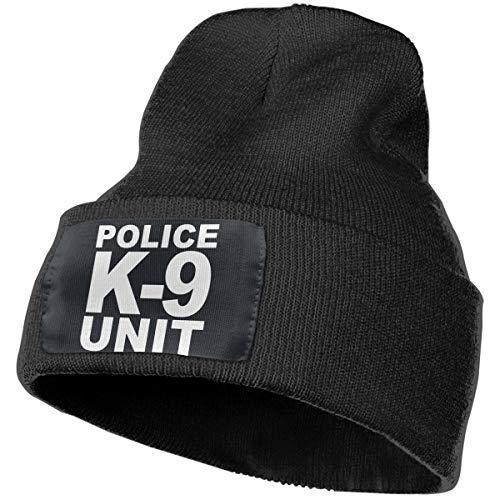 Beanie Police K-9 Unit Knitted Hat Skull Cap Men Women Black