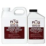 wood rot repair kit - RTG Wood Rot Repair Epoxy (Quart)