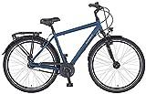 Prophete GENIESSER 21.BMC.10 - Bicicleta de Ciudad para Hombre (28', 7 velocidades, Altura del Cuadro: 52 cm), Color Azul Oscuro Mate