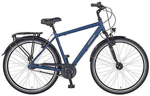"Prophete Herren GENIESSER 21.BMC.10 City Bike 28\"" 7-Gang Fahrrad, dunkelblau matt, RH 52"