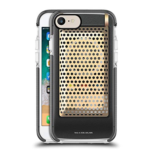 Head Case Designs Officially Licensed Star Trek Communicator Closed Gadgets Black Shockproof Gel Bumper Case Compatible With Apple iPhone 7 / iPhone 8 / iPhone SE 2020