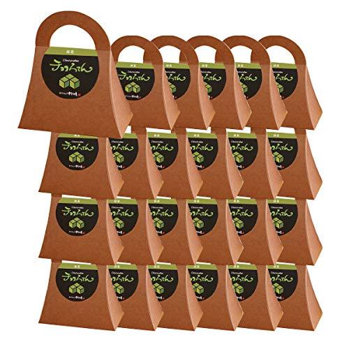 伊豆河童 チョコろてん 24個セット チョコ抹茶味 (抹茶入り角心太95g チョコソース12.5g×2)×24 ホワイトデー 向け