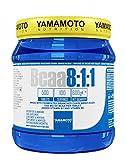 Yamamoto Nutrition Bcaa 8:1:1 Integratore Alimentare di Aminoacidi a Catena Ramificata con Vitamine B1 e B6 500 Compresse, 700 Grammi