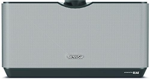 TechniSat AUDIOMASTER MR3 – 90 Watt ELAC WLAN-Lautsprecher und Internetradio (mit UPnP/DLNA Audiostreaming, Multiroom Speaker zum Abspielen von Internetradio, Spotify und Bluetooth) schwarz/silber
