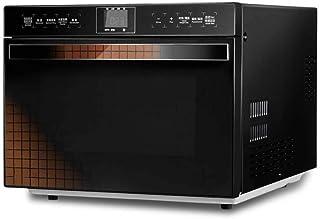 Atten Horno de microondas compacto con la conversión de frecuencia inteligente, sensor de cocción, horno de calentamiento rápido, de acero inoxidable de la pantalla táctil Operación, 25 litros