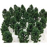 濃緑 8.5cm 20本セット DauStage] 杉の木 森林 スギ 模型 選べる 色 サイズ Nゲージ ジオラマ 鉄道 建