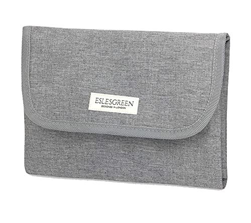 Eslesgreen - Fasciatoio portatile impermeabile per bambini, fasciatoio da viaggio pieghevole