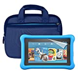 "Fire Kids Edition Essentials Bundle including Fire Kids Edition, 7"" Display, Wi-Fi, 16 GB, Blue…"