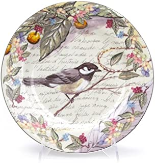 Morning Song by American Atelier, China Salad Plate