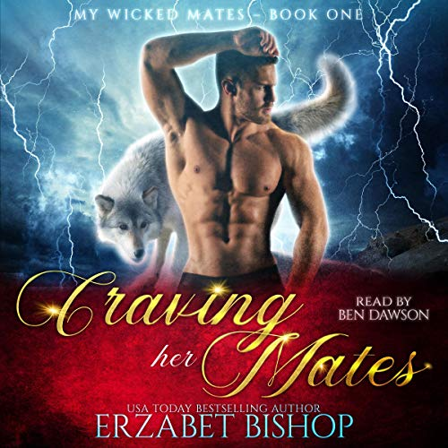 Craving Her Mates: A Shapeshifter Paranormal Romance audiobook cover art
