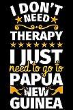Notebook cahier ligné: Papouasie-Nouvelle-Guinée Cadeaux drôles de cadeau Saying