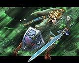 Luyshts Rompecabezas 1000 Piezas para Adultos Rompecabezas The Legend of Zelda: Breath of The Wind desafía a Las Personas a Crecer Juegos Infantiles Juguetes Juego de Rompecabezas