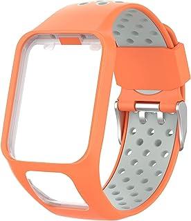 Chainfo Compatible con Tomtom Spark/Spark 3 / Runner 2 / Runner 3 / Golfer 2 / Adventurer Correa de Reloj, Banda de Reempl...