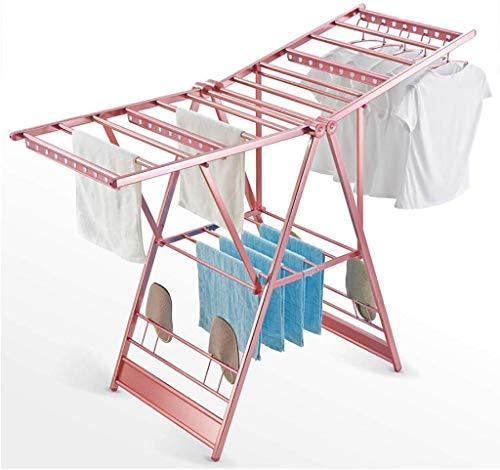 Ophangsysteem aluminiumlegering materiaal passend frame design buizen anti-slip kunststof grote weerstand roestvrij staal aluminiumlegering (kleur: roségoud) Rose-golden