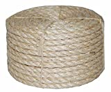 T.W. Evans Cordage Co. 22-400 3/8 in. X 732 ft Twisted Sisal Rope