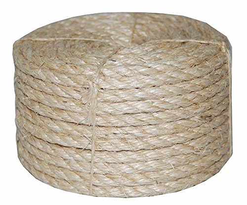 T.W. Evans Cordage Co. 22-605 1/2 in. X 50 ft Twisted Sisal Rope