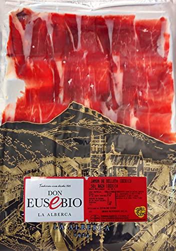 1 Kg Jamón de bellota Ibérico 50% raza ibérica cortado a cuchillo Pata Negra