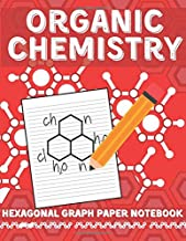 Organic Chemistry Hexagonal Graph Paper Notebook:: For Drawing Organic Chemistry Structures Small Grid, Perfect for Chemistry Students, Teachers, ... x 27.94 cm)   160 Pages   1/4 inch Hexagons