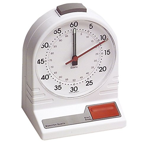 Neolab 1 1597 - Temporizador de mesa (0-60/0, 100 minutos, diámetro de 110 mm)