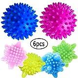 WENTS Balles de Séchage 6PCS sèche-Linge balles pour Lave-Linge/Boule de Lavage Boules...