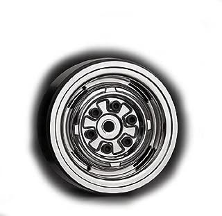G-Made 70105 1.9 VR01 Beadlock Wheels, Chrome (2)