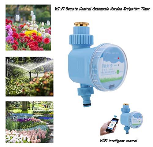 Bewässerung Timer, Garten Sprinkler Wasser Blumen Timer Controller Tap Home Automatische elektronische Wi-Fi Remote intelligente Steuerung Ausrüstung für Rasen, Balkon, Hof etc