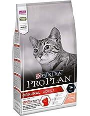 PURINA Pro Plan Adult Gatto, Crocchette Ricco in Salmone, 6 Sacchi da 1.5 kg