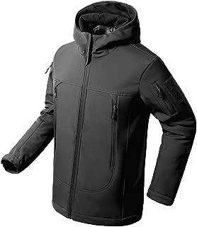 Flying Eagle Tactical Jackets Softshell Fleece Lined Water Repellent Jackets Winter Windproof Coat for Men