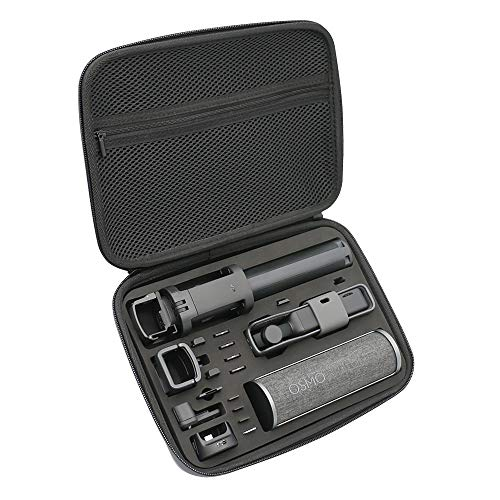 Medium Osmo Pocket Portable Surface-Waterproof Carrying Case Accessories Protective Travel Bag Compatible with DJI Osmo Pocket