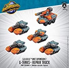 Privateer Press PIP51004 Monsterpocalypse: Protector G.U.A.R.D. Unit - G-Tanks & Repair Truck (Resin), One Size