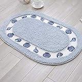 LZXLL Bad teppiche, Bad Teppich, oval Bad matten groß, teppiche pad auf die bathroom40x60cm, 50x80cm