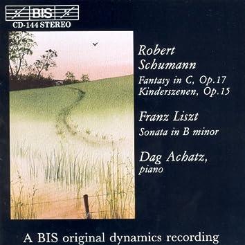 Schumann:  Kinderszenen / Fantasy / Liszt: Sonata in B Minor