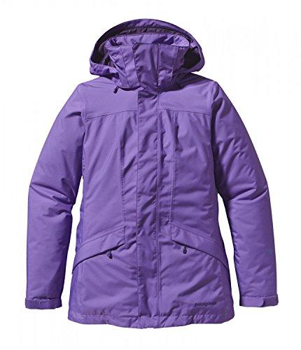 Patagonia W Insulated Snowbelle Jacket - Violetti - XS - Wasserdichte isolierte Damen Thermogreen? Ski- und Snowboardjacke