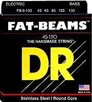 DR Strings FB5-130 Fat-Beams Bass 5 Strings Medium 45-130 [並行輸入品]
