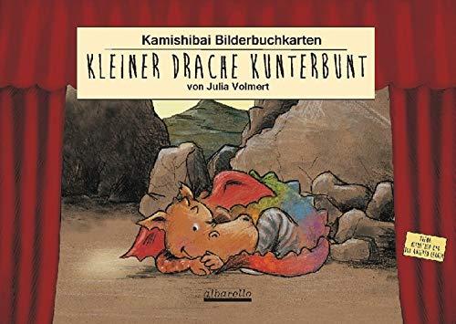 Kamishibai Bilderbuchkarten 'Kleiner Drache Kunterbunt': 11 Bildkarten fürs Kamishibai Erzähltheater, für handelsübliche Kamishibais im DIN A 3 Format