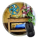 MSD Naturkautschuk Mousepad rund Mauspad 25314407Vintage Orange Squeezer in Nepal