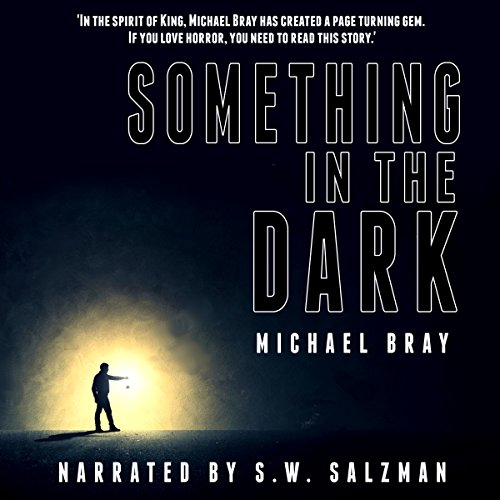 Something in the Dark audiobook cover art