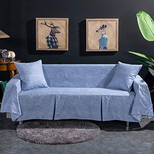 ZWL bankplaid, elastisch, voor woonkamer, bank, fauteuil, hoekbank 1-seater 195 X 200cm Kleur 6