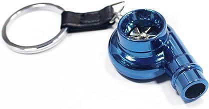 Nabati? Creative nueva nos/ color azul dise/ño de bombona de /óxido nitroso clave cadena anillo llavero Stash p/íldora caja de almacenamiento Turbo Llavero 6/cm de altura /Llavero