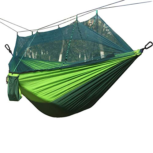 Camping Hammock Travel and Hiking - Outdoor Hammock for 2 people - Lightweight & Amp;Portable for easy hanging from trees - great camping gifts for men & amp;Women comfort and durability