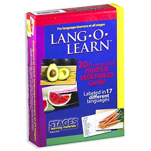 Lang-O-Learn Cards - Fruits and Vegetables by Stages Publishing