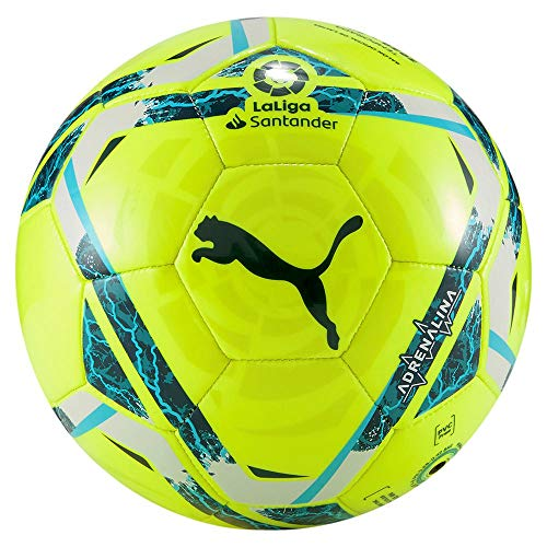 PUMA LaLiga 1 ADRENALINA Mini Ball, Pallone da Calcio Unisex-Adult, Lemon Tonic-Multi Colour