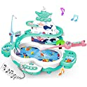 Siairo Store 3 in 1 Premium Version Electric Fishing Toys for Toddlers