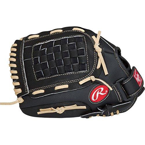 Rawlings RSS130C Baseball/Softball Handschoen - Black - 13 inch - (voor linkshandige werper!)