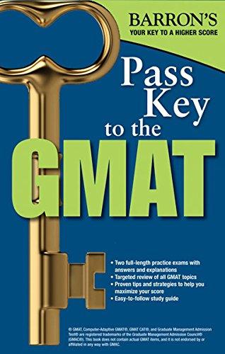 Pass Key To The Gmat Barrons Pass Key The Gmat