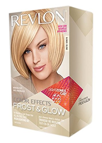 Revlon Colorsilk Color Effects Frost and Glow Hair Highlights, At-Home Hair Dye Kit for Natural, Color-Treated & Permed Hair, Blonde, 1 Count