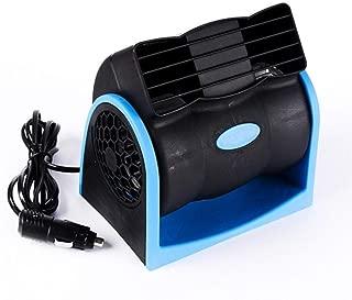 Color : Black, Size : Single Fan XIAOF-FEN USB 12V Portable Car Fan Air Cooler Desktop Mini Automotive Stand Ventilator Refrigeration USB Fan